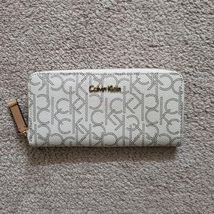 Gold Limited Edition Calvin Klein Clutch Wallet